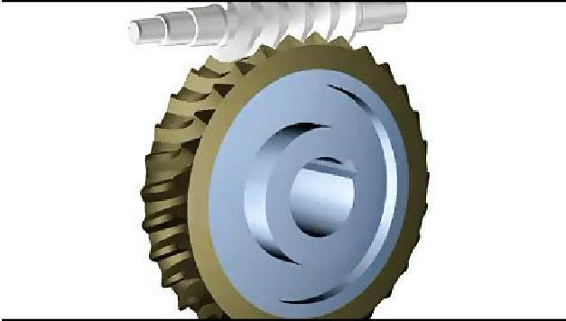 蜗轮蜗杆减速机动画演示