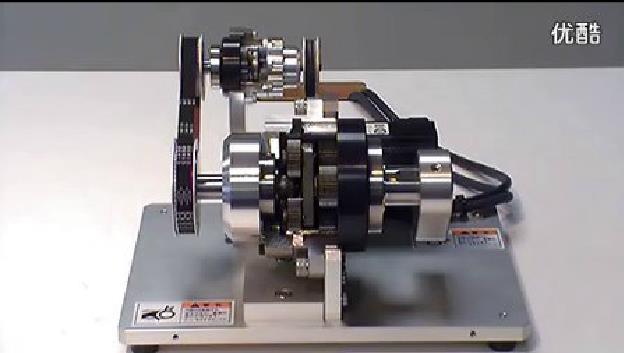 行星减速机-HPG带输入轴单元断面视频演示