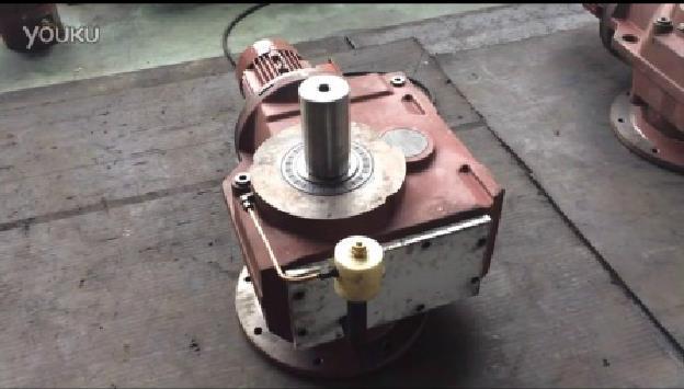 螺旋锥齿轮硬齿面减速机运转演示